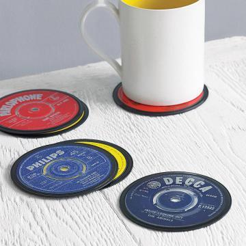 Vinyl Coasters